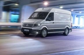 VW Volkswagen Nutzfahrzeuge AG: Der neue Crafter - Die neue Größe / Praktisch, wirtschaftlich und innovativ wie nie zuvor (FOTO)