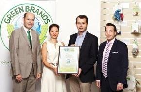 """Green Brands: ALANA Kindertextilien von dm mit """"GREEN BRAND Germany 2013/2014"""" ausgezeichnet"""