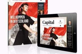 Capital, G+J Wirtschaftsmedien: 'Capital' will Wirtschaft anders erzählen und startet mit komplett neuem Print-, Online- und Mobile-Auftritt: Ganzheitliche globale Sichtweise auf das Thema Wirtschaft