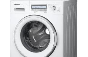 Panasonic Deutschland: Panasonic Waschmaschinen NA-148VB6 und NA-147VB6 / Viel Bedienkomfort, innovative Technik und wenig Verbrauch