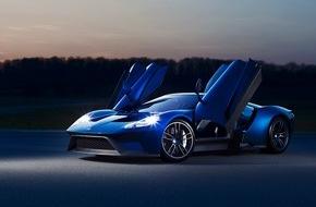 Ford-Werke GmbH: Ford GT: Bewerbungsprozess startet unter www.FordGT.com