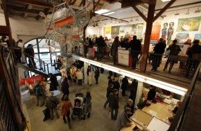 Kunstsupermarkt: Kunst für alle im Supermarkt - Der 13. Schweizer Kunst-Supermarkt wird demnächst eröffnet