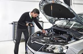 Skoda Auto Deutschland GmbH: Mit SKODA Urlaubs-Check sicher in den Sommer