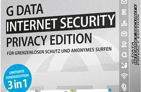 G Data Software AG: G DATA PRIVACY EDITION: Bester Rundumschutz in der virtuellen Welt