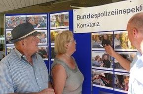 Bundespolizeiinspektion Konstanz: BPOLI-KN: Sicher in die Urlaubszeit: Bundespolizei informierte auf dem Wochenmarkt in Radolfzell