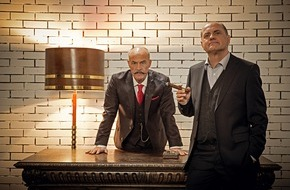 """SAT.1: Echte """"Männer""""  hinter Gittern: Uwe Ochsenknecht und Heiner Lauterbach im SAT.1-TV-Event """"Die Udo Honig Story"""""""