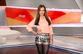 """ProSieben Television GmbH: 10 Jahre Promi-Klatsch de Luxe: Annemarie Carpendale feiert am 9. März Moderationsjubiläum bei """"taff"""""""