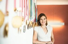 EGK Gesundheitskasse: Simone Niggli-Luder devient ambassadrice d'EGK-Caisse de Santé