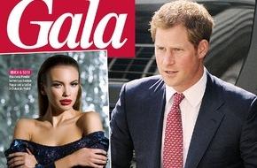 Gruner+Jahr, Gala: Exklusiv in GALA: Model Anastasia Plewka über ihre Nacht mit Prinz Harry