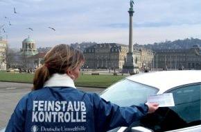 Deutsche Umwelthilfe e.V.: Umweltzonen in Baden Württemberg DUH und BUND kontrollieren am 1. März 2008 Fahrverbote in acht Städten Baden Württembergs