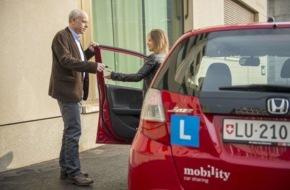 Mobility Carsharing Schweiz: Les élèves conducteurs affluent chez Mobility