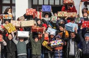Christliche Ostmission: 91'102 Weihnachtspäckli für Osteuropa / «Aktion Weihnachtspäckli 2014»: Die Marke von 90'000 erstmalig überschritten, ein starkes Zeichen praktischer Solidarität