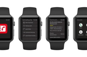 Das Telefonbuch Servicegesellschaft mbH: Das Telefonbuch präsentiert neue App für die Apple Watch / Design trifft Nutzen
