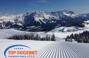 SkiWelt Wilder Kaiser-Brixental Marketing GmbH: 52.000 Skifahrer haben entschieden: Die SkiWelt Wilder Kaiser - Brixental ist das beliebteste Skigebiet der Alpen