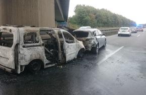 Unfall mit Brand