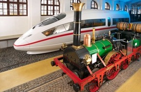 Warsteiner Brauerei: Vor 180 Jahren rollte die erste Dampflokomotive in Deutschland / Nächster Halt: Warsteiner Brauerei!