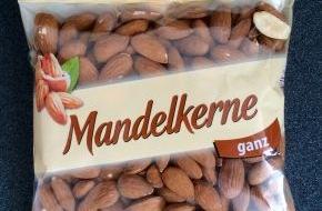 """LIDL: Lidl Deutschland informiert über einen Warenrückruf / In dem Produkt """"Mandelkerne ganz, 200 g Beutel"""" wurden Salmonellen nachgewiesen"""