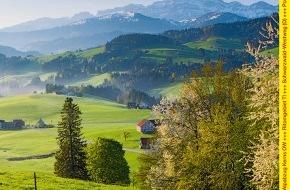 Wandermagazin SCHWEIZ: Wandermagazin SCHWEIZ im September 2012: Appenzellerland - Grossartig klein