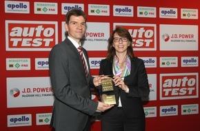 Skoda Auto Deutschland GmbH: SKODA Octavia Combi ist ,Auto Test Sieger 2015' in der Importwertung