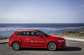 Audi AG: AUDI AG: Europa-Absatz steigt im November um sechs Prozent