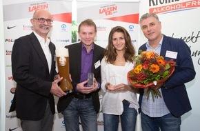 Krombacher Brauerei GmbH & Co.: Läufer des Jahres: Arne Gabius, Gesa Krause und Burkhard Farnschläder