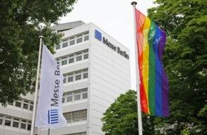 Messe Berlin GmbH: Messe Berlin zeigt Flagge gegen Homo- und Transphobie