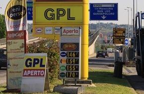 Deutscher Verband Flüssiggas e. V.: Autogas tanken im Sommerurlaub - Autogas-Preise in Urlaubsländern europaweit auf dem Tiefstand