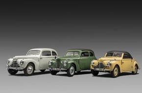 Skoda Auto Deutschland GmbH: Der SKODA 1101 ,Tudor' feiert seinen 70sten