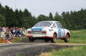 Skoda Auto Deutschland GmbH: SKODA startet mit legendärem 130 RS und Champion Kahle beim Eifel Rallye Festival