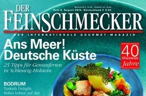 Jahreszeiten Verlag, DER FEINSCHMECKER: DER FEINSCHMECKER empfiehlt die 40 besten deutschen Bierlokale