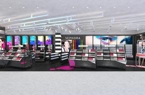 Manor AG: Sephora eröffnet ersten Store in Genf gemeinsam mit Manor, dem führenden Warenhaus der Schweiz