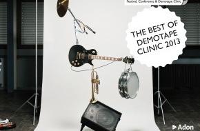 Migros-Genossenschafts-Bund Direktion Kultur und Soziales: Le Pour-cent culturel Migros présente la compilation «The Best of Demotape Clinic 2013» / m4music: les meilleures démos de musique pop suisse en 2013
