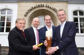 Krombacher Brauerei GmbH & Co.: Krombacher Alkoholfrei - neuer Partner der Deutschen Olympiamannschaft