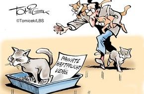 Bundesgeschäftsstelle Landesbausparkassen (LBS): Vier sind zu viel / Haftpflicht verweigerte Leistung wegen übermäßiger Tierhaltung