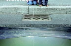 Association Suisse des Gardes-Pêche: UNE EMPREINTE DANS LA FONTE / UN POISSON SUR UNE GRILLE -  «Sous chaque grille se cache une rivière» (Image/Document)