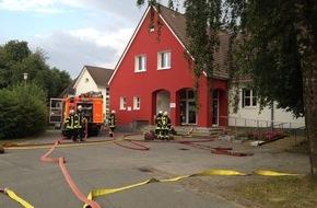 Freiwillige Feuerwehr Lage: FW Lage: Kellerbrand in der Grundschule Müssen - 13.07.2016 - 18:29 Uhr
