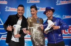 Stage Entertainment GmbH: Holiday on Ice präsentiert Stargäste der Saison 2010/2011: Jana Ina und Giovanni Zarrella sowie Lou Bega (mit Bild)