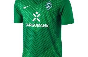 Werder Bremen GmbH & Co KG aA: Werder Bremen-Presseservice: Zeig es - Trag es! Die neuen Werder-Trikots!
