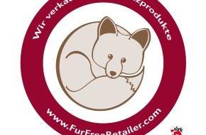 """LIDL: Lidl setzt ein Zeichen gegen den Verkauf von Echtpelz / Kunst- statt Echtpelz: Lidl ist dem internationalen Programm """"Fur Free Retailer"""" beigetreten"""