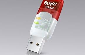 AVM GmbH: Neuer FRITZ!WLAN Stick AC 430 für Highspeed in kabellosen Netzen
