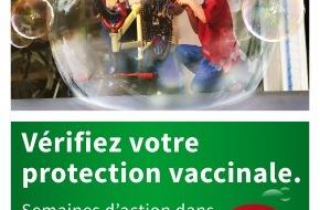 pharmaSuisse - Schweizerischer Apotheker Verband / Société suisse des Pharmaciens: Conseils de vaccination: contribution des pharmaciens aux soins médicaux de base