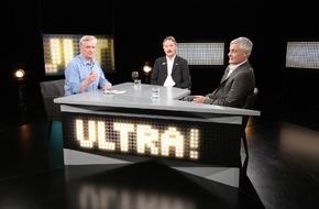 """Tele 5: """"Ultra! Aus Liebe zum Fußball"""" - Stimmen aus der Sendung vom 26.2.2015:Thema: """"Wie viel Charakter verträgt der Profi-Fußball?"""""""