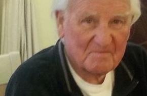 Polizeipräsidium Mainz: POL-PPMZ: 83-jähriger Mann vermisst