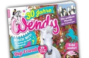 """Egmont Ehapa Media GmbH: """"Wendy"""" - das erfolgreichste Pferdemagazin Deutschlands wird 30 Jahre alt!"""