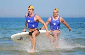 DLRG - Deutsche Lebens-Rettungs-Gesellschaft: 19. DLRG Cup in Warnemünde: Mehr als 300 Sportler aus sechs Nationen ermitteln die schnellsten Wasserretter