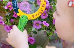 Blumenbüro: Gartenspaß für Groß und Klein / Kinderleichtes Gartenglück mit dem Zauberglöckchen