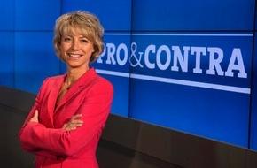 """SWR - Südwestrundfunk: Asylrecht weiter verschärfen? / Bascha Mika, Nina Warken (CDU) und andere debattieren in """"Pro & Contra"""" am Mittwoch, 17. Februar 2016, 21 Uhr live im SWR Fernsehen"""