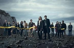"""Sky Deutschland: Eine Tragödie am Strand: Sky präsentiert die Thrillerserie """"Gracepoint"""" (FOTO)"""