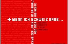 Migros-Genossenschafts-Bund Direktion Kultur und Soziales: Poésie suisse en son original / Le Pour-cent culturel Migros et les Editions Christoph Merian publient un livre audio de poésie