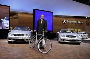 Mercedes-Benz Schweiz AG: Mercedes-Benz auf dem 76. Internationalen Automobil-Salon 2006 in Genf: High-Performance und vorbildliche Effizienz